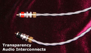 Audio Interconnector Cables and Speaker Cables